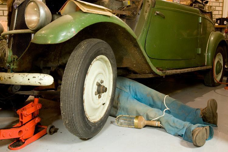 main of Building a Car-Nut's Garage