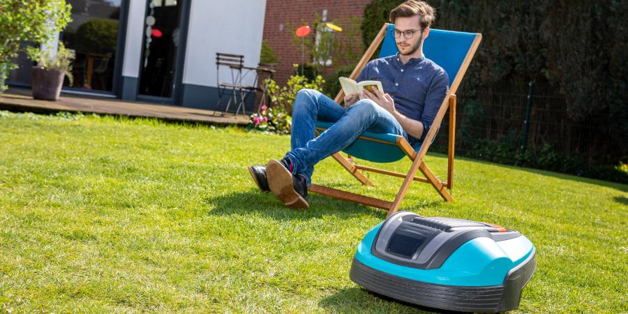 banner of A Robotic Lawn Mower Means More Hammock Time and Less Chores