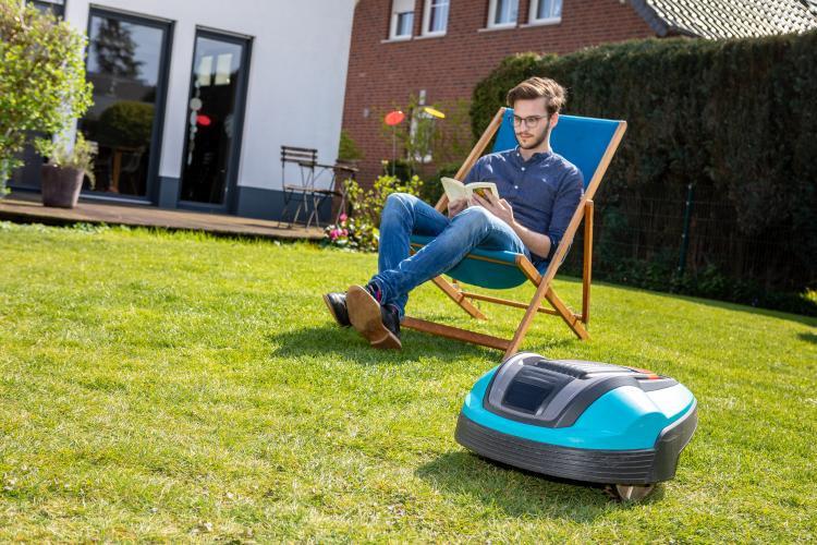main of A Robotic Lawn Mower Means More Hammock Time and Less Chores